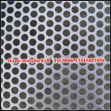 perforated galvanized sheet metal/perforated sheet of metal