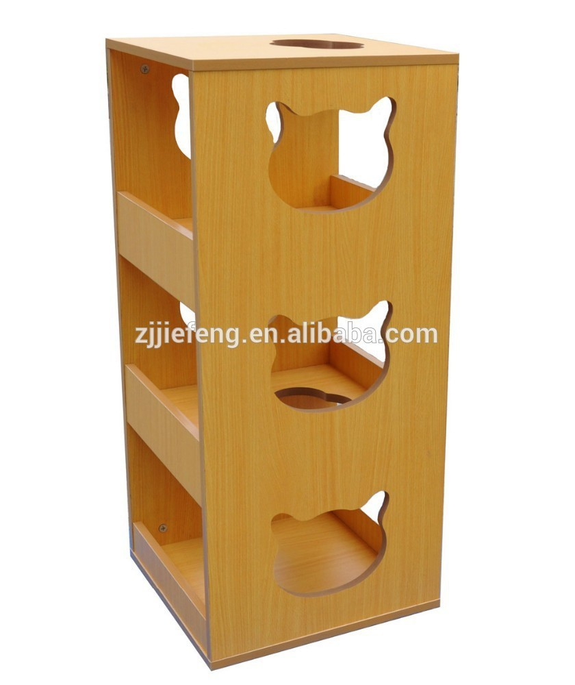 Insteresting MDF Cat Tree