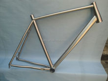 China factory road bike titanium frame bicycle part