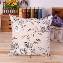 China Supplier Simple Design Flower Pattern Sofa Cushion Back Support Floor Cushion