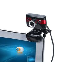 New USB 2.0 12 Megapixel HD Webcams with Absorption Mic Auto Focus Clip-on Web Camera CMOS 10 Meters for Desktop Computer Laptop