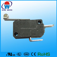 Screw terminal micro switch, lever micro snap switch for massor
