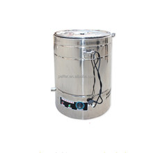 Peffer beekeeping stainless steel electric honey heating barrel for sale