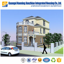 Factory made luxury villa good looking prefabricated two storey house/ prefab villa