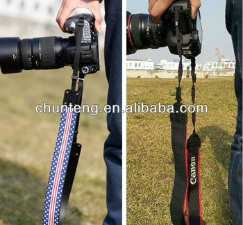 Factory Wholesale custom camera strap