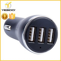 Multifunction universal USB car charger for mobile phone