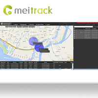 Meitrack tracking programs gps tracking software for gps tracker with google Maps Customization accepted MS03