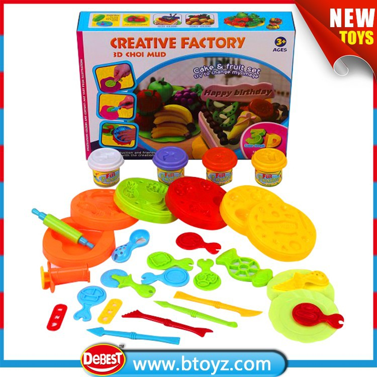 Vegetable and Fruit Fruit Products Price DIY Clay Toy