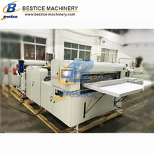 Cross cutting & Vertical slitting Roll to sheet cutting machine