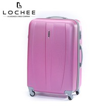 "Zipper ABS 28"" Hardtop Lady 20 Cute Cheap Luggage Set For Woman"