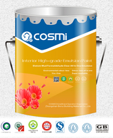 Water proof semi-gloss emulsion/latex paint for wall coating