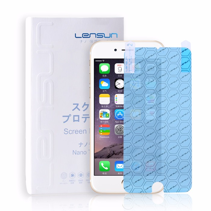 LENSUN NANO Soft Explosion-proof Anti-Glare Shatterproof High Clear Screen Protector With Design