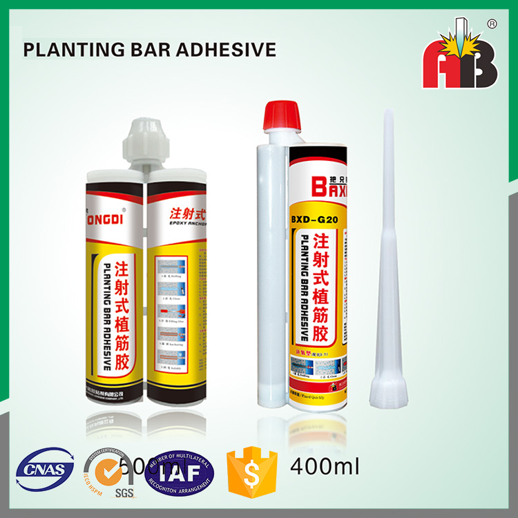 construction bonded Epoxy steel planting injection adhesive