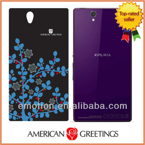 Authorized Mobile Case for Sony Xperia Z case from American Greetings Plastic case Xperia Z case case for xperia z