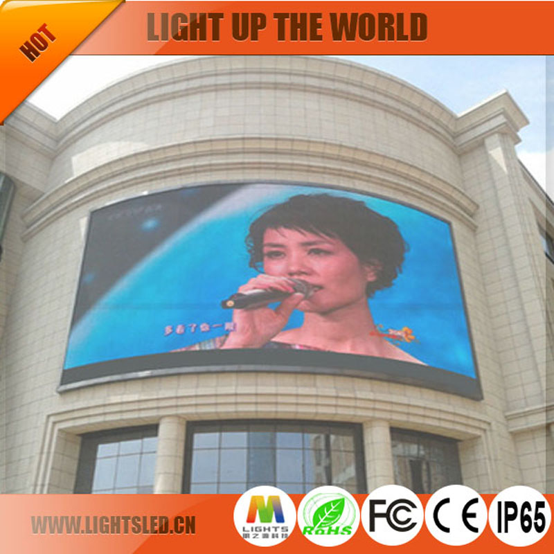 Advertising P16 Outdoor Led Screen/wall mounted ironing board advertising sign