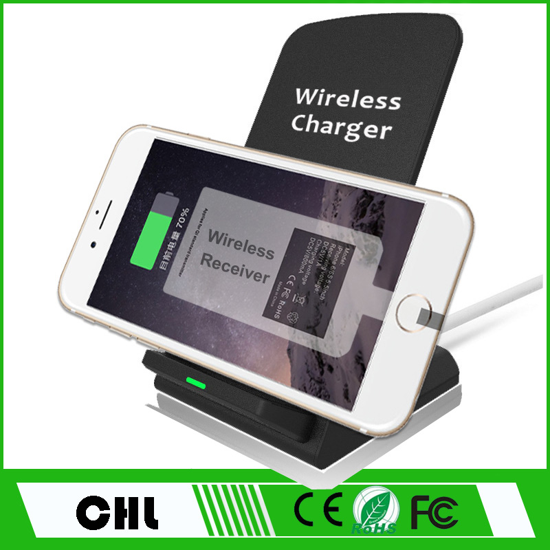 New Premium Products 2017 Qi Wireless Charger Hands Free for Apple and Android Use Mobile phone accessories
