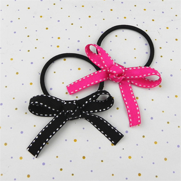 fashionable heart hair ties