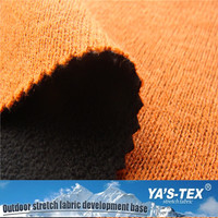New Design Bonded Knitted Fabric Polar Fleece Fabric