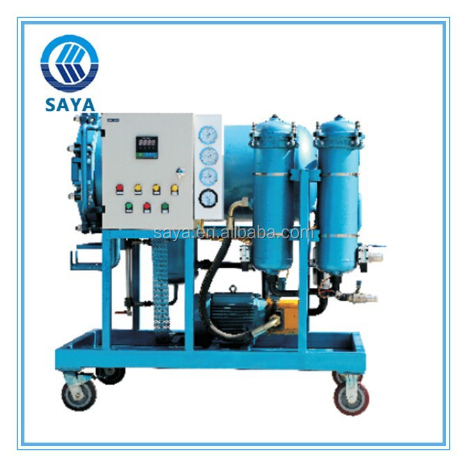 high quality oil recycling machine oil purifier LYC-50J for waste oil