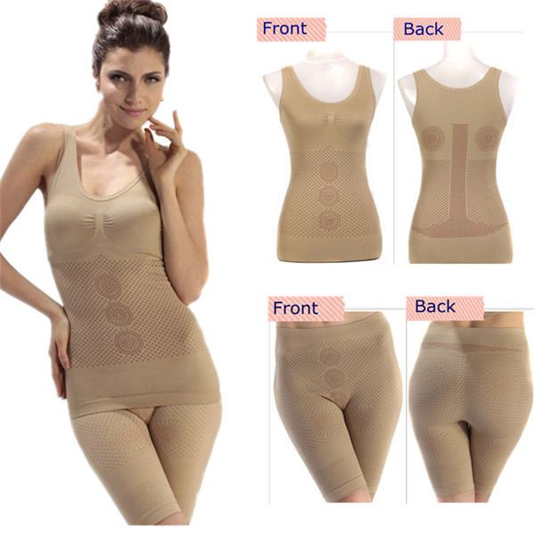 Factory Price Seamless Far Infrared Slim Body Shaper Suit For Women
