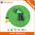 50FT US Europe Amazon online hot garden hose car washing flexible hose with brass fittings