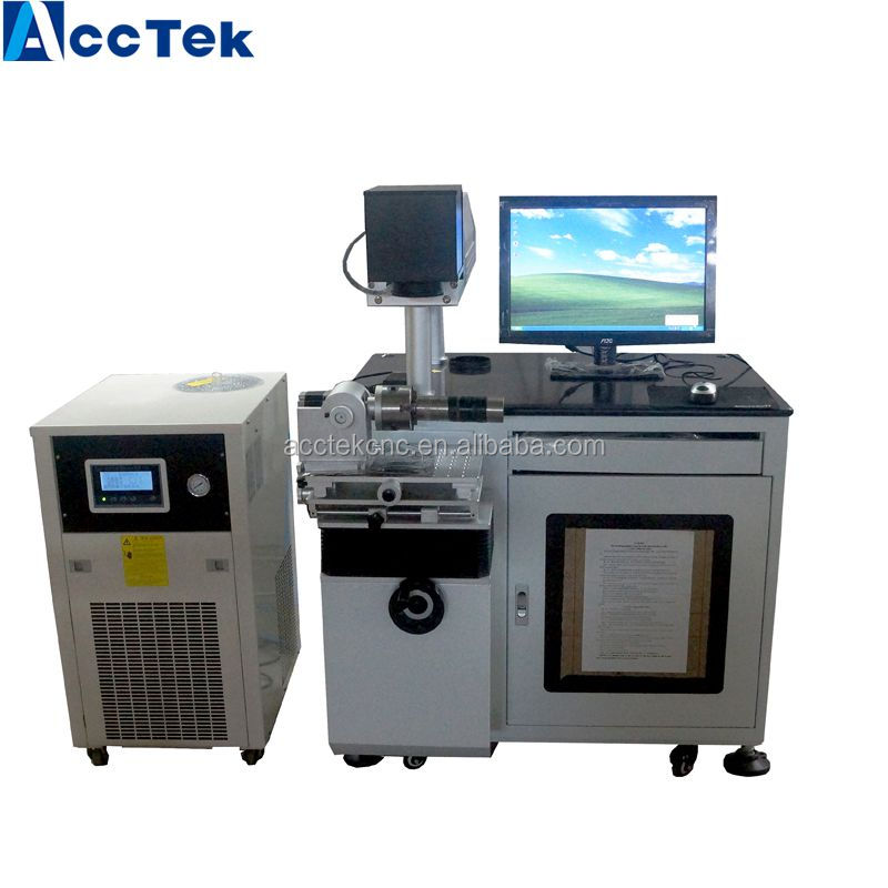 Hot !hot!hot! CNC laser for metal mark for improve the added value of products AK50-Y