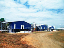 ISO certificate steel structure controlled prefab chicken farm supplies