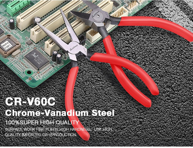 Discount Price Goods Daina Electronic Cutter Pliers Can Cut Copper Iron Metal Wire Cr.V60C Steel Plier