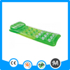Transparent inflatable swimming bed, inflatable floating air mattress/ air bed