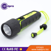 EASTPRO EPD003 rubber coat submarine lamp light diving powerful led flashlight