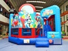Kids party inflatable cartoon theme combo bouncer