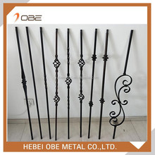 Wrought iron stairs/stair parts for indoor or interior or balcony handrails /railings with many good design