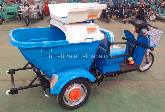 CE certificate approved electric sanitary tricycles/three wheels trike sanitation vehicles 3100008