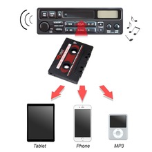 Universal Car Cassette Adapter Tape Mp3 Player Converter 3.5mm Jack Plug for iPod AUX Cable CD Player