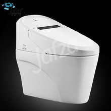 S-S012 New innovative bathroom siphonic flushing automatic ceramic digital smart toilet