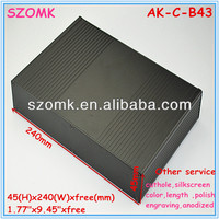 aluminum external enclosures for set-top box