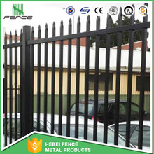 Decorative Pvc Coated Ornamental Wrought Iron Fence