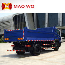 Hot sale 6 wheels diesel 162hp mini drive dump truck