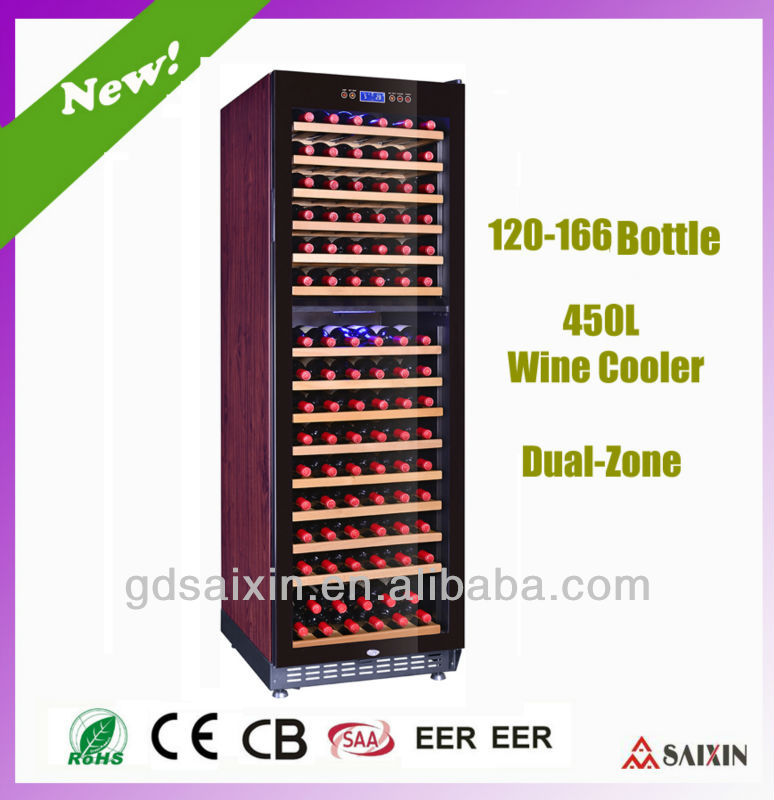 SRW-168D Wine Chiller Cooler/Wine Cellar/Wine Cabinet