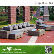 5PCS Rattan Balcony Sofa Set Cheap Rattan Garden Sofa Garden Furniture