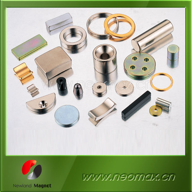 Permanent All kinds of NdFeB Magnet from Newland Magnetics