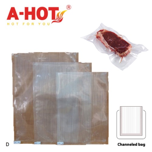 New Disposable Customized Plastic Pouch Food Grade Vaccum Bag