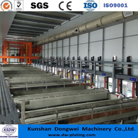 Automatic gold/silver/copper/nickel/zinc/Ti/Tin plating plant