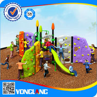 Plastic outdoor children playsets