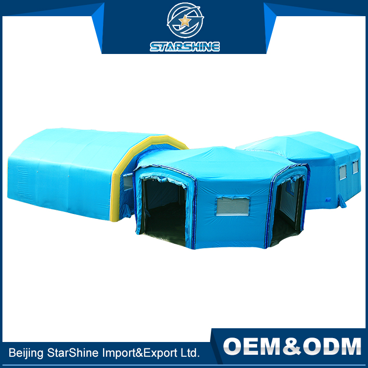 Waterproof Folding Air Tent Temporary Emergency Inflatable Surge Field Hospital Shelter