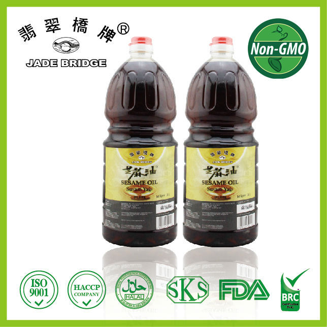Chinese seasoning oil,sesame seed oil Pure 100% with Kosher
