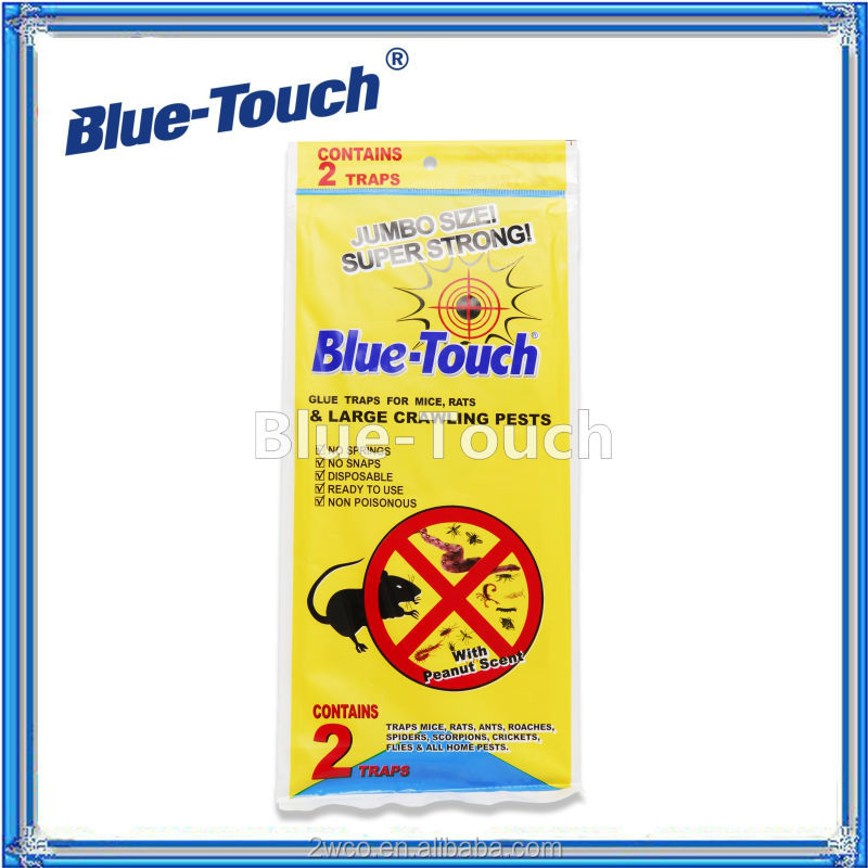 Blue-Touch mouse & rat adhesive sticky insect paper Jumbo Glue Traps