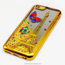 TPU Liquid Quicksand Glitter Star Phone Case for iphone6 bling bling back cover for apple