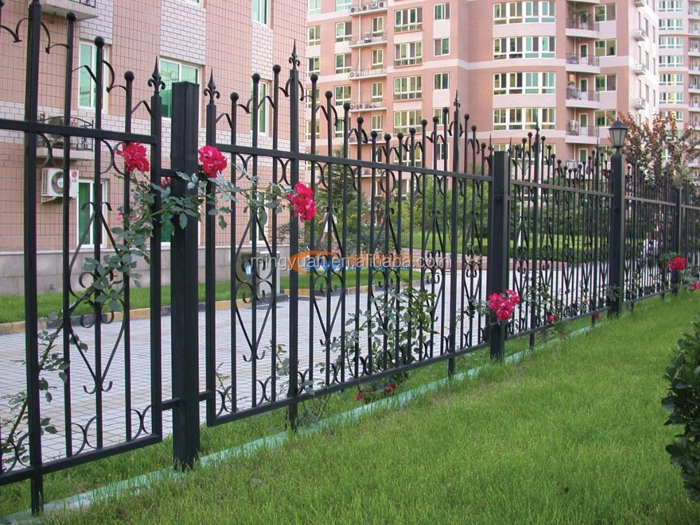 Iron fence metal art guard bar buy wrought