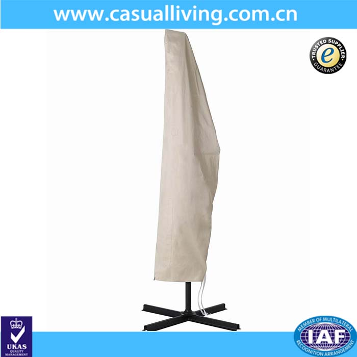 High Quality Polyester fabric with waterproof furniture patio outdoor umbrella cover